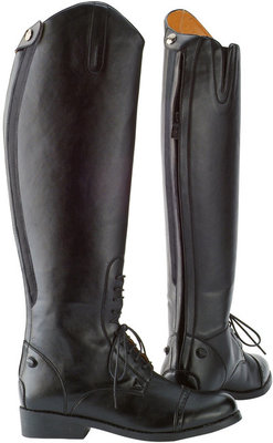 Saxon Equileather Tall Field Boot, Wide
