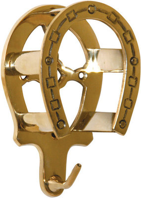 Brass Bridle Bracket, each