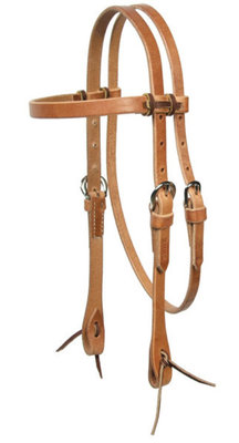 Schutz Brothers Pony Harness Leather Headstall