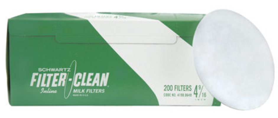 Schwartz Filter-Clean Disc, Box of 200