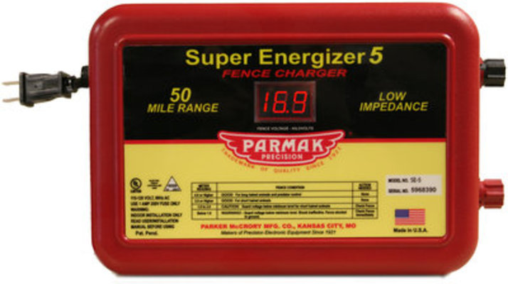 Parmak Super Energizer, Model SE-5