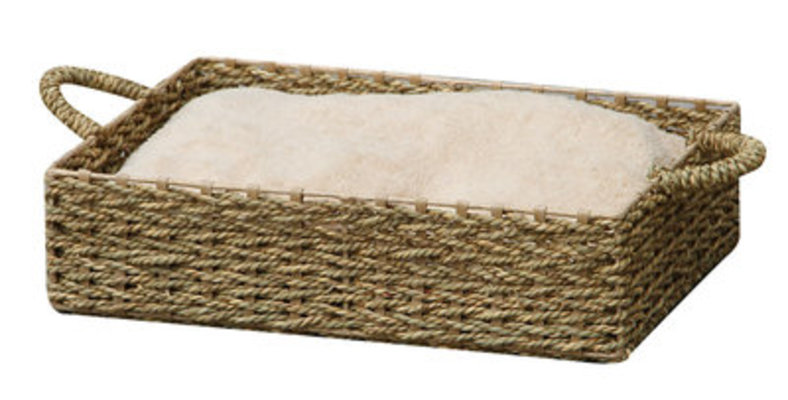 Sea Grass Rectangle Pet Bed