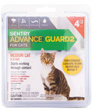 Sentry Advance Guard2 for Cats, 4 count