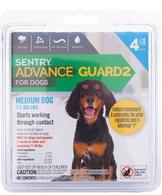 Advance Guard2 for Dogs 11-20 lb (4 pk)