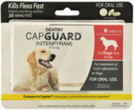SENTRY CapGuard Flea Tablets, 6 count