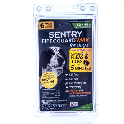 Fiproguard Max for Dogs 23-44 lb (6 pack)