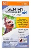 SENTRY Fiproguard Plus for Dogs, 3 Pack