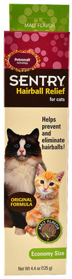 Sentry Petromalt Hairball Relief for Cats