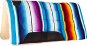 Serape Fleece Bottom Saddle Pad