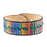 Serape with Turquoise Buckstitch Bracelet