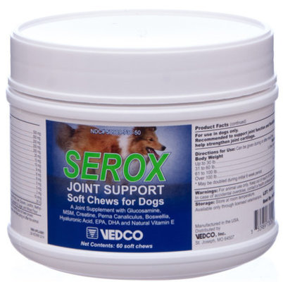 Serox Joint Support Soft Chews for Dogs