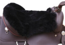 Sheepskin Seat Cushion-Western