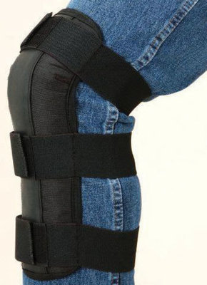 Barrel Racing Shin Guards, Black