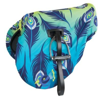 Shires Patterned Waterproof Saddle Cover