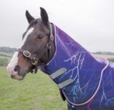 "Shires Tempest ""Purple Lightning"" Neck Cover"
