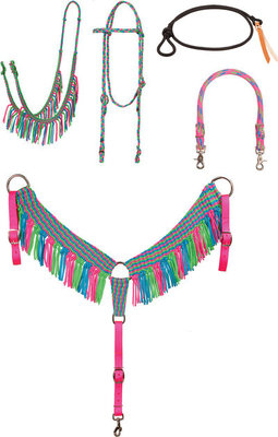 ShortGo Fringe Barrel Racing Tack Set