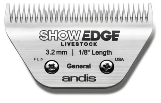 ShowEdge Livestock Blade, General