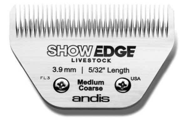 ShowEdge Livestock Blade, Medium Coarse