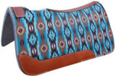"Showman ""Aztec"" Felt Saddle Pad"