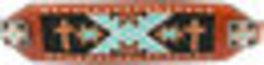 Showman Beaded Cross Bronc Halter Image 2