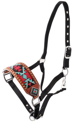 Showman Beaded Navajo Bronc Halter