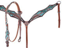 Showman Cherokee Tack Set, Full size