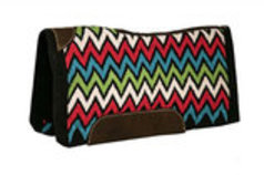 "Chevron Showman Saddle Pad, 34"" x 36"""
