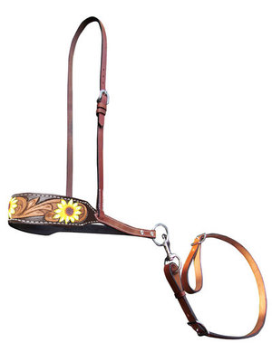 Showman Fashion Nosebands with Tie Down