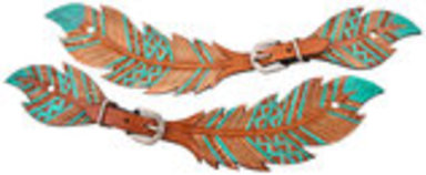 Showman Feather Spur Straps