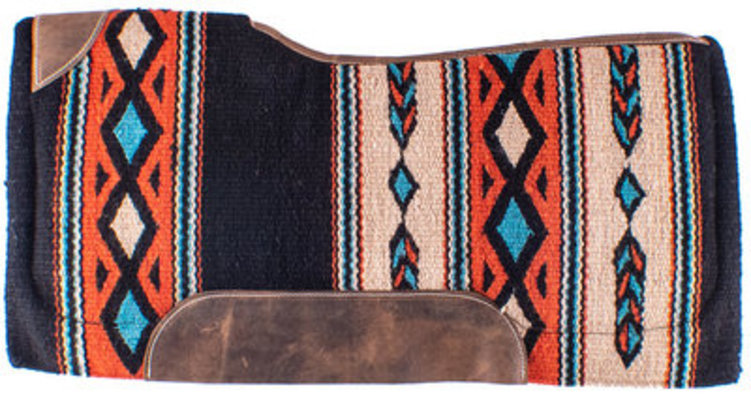 "Showman ""Freedom Feather"" Contoured Saddle Pad"