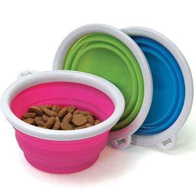 3 cup Collapsible Travel Bowl (each)