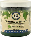Silver Lining Herbs #13 Herbal Wormer for Dogs, 4 oz