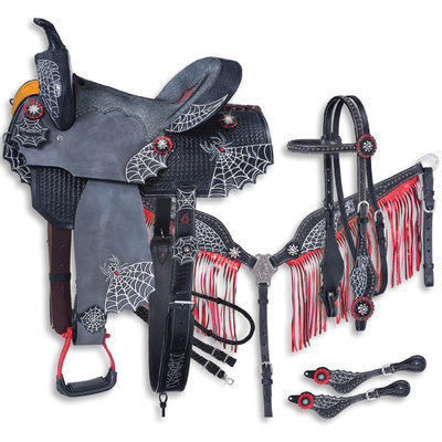 Black Widow Saddle & Tack Collection