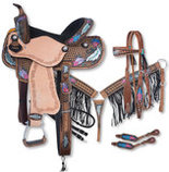 Silver Royal Delilah Saddle & Tack Collection