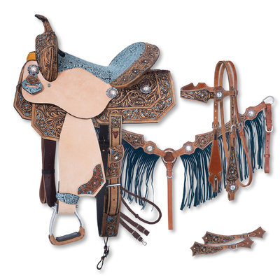 Silver Royal Skylar Saddle & Tack Collection