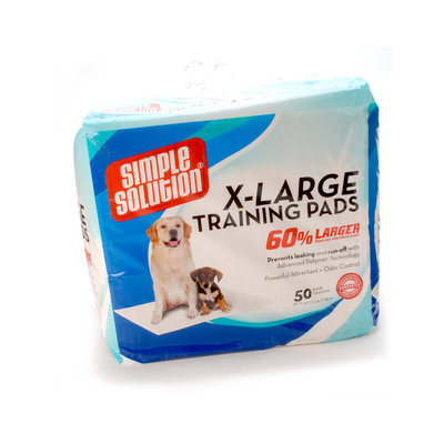 Simple Solution X-Large Training Pads, 50 ct