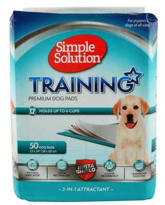 Simple Solution Original Training Pads, 50 ct