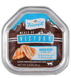 Triumph Meals of Victory Chicken Recipe Cat Food