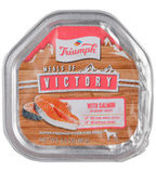 Triumph Meals of Victory with Salmon in Savory Juices Dog Food