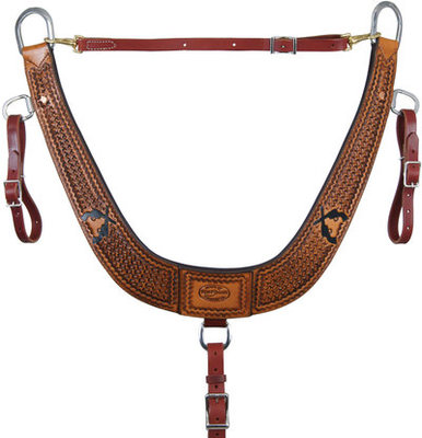 Six Shooter Series Breast Collar