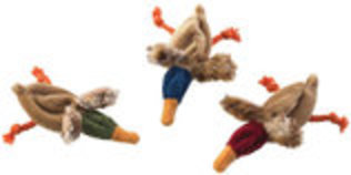Skinneeez Ducks Cat Toy, 6""