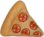Slice O' Pizza Crinkle & Squeak Dog Toy