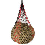 Slow Feed Hay Net, Large, Black/Red