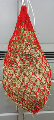 Jeffers Slow Feed Hay Net, Red