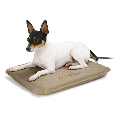 "Small Outdoor Heated Dog Bed, 20 watts (14"" x 18"")"