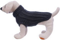 Jeffers Cable Knit Dog Sweaters, Small