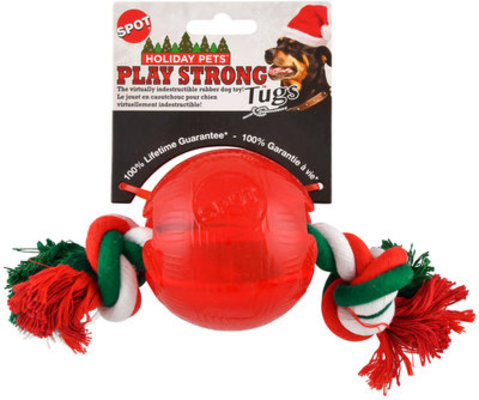 Small Holiday Play Strong w/ Rope Tug