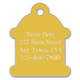 Small Hydrant Shaped Dog Tag