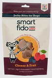 Smart Fido USA Jerky Bites, Cheese and Fruit, 5 oz
