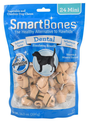 24 pack Mini SmartBones Dental